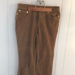 Tory Burch classic boot cut corduroy pants